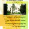 Bursele bianuale Jean Ţăranu- Reşedinţa Internaţională a Scriitorilor şi Artiştilor—Val David, Quebec, Canada