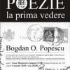Bogdan O. Popescu la POEZIE LA PRIMA VEDERE