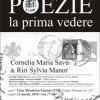 POEZIE LA PRIMA VEDERE cu scriitoarele Cornelia Maria Savu şi Riri Sylvia Manor