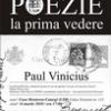 Paul Vinicius, după 8 ani de tăcere editorială!