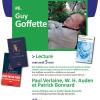 Guy Goffette alături de Verlaine, Auden şi Bonnard