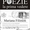 POEZIE LA PRIMA VEDERE cu Mariana Filimon