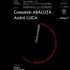 """Constantin Abăluţă şi Andrei Luca la """"Institutul Blecher"""