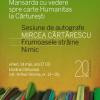 Sesiune de autografe cu Mircea Cărtărescu