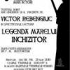 """""""Legenda Marelui Inchizitor"""" în interpretarea lui Victor Rebengiuc"""