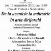 """""""De la ucenicie la măiestrie în arta dirijorală"""", ediţia a II-a"""