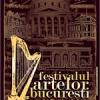 Radu Beligan, Tudor Gheorghe, Ion Caramitru, Dan Puric, Felicia Filip, Maia Morgenstern şi K1, invitaţii Festivalului Artelor Bucureşti, ediţia a II-a