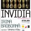 """Expoziţia de pictură şi instalaţie """"INVIDIA"""" de Irina Broboană"""
