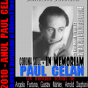 In memoriam Paul Celan: (23 noiembrie 1920 – 20 aprilie 1970)