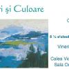 """Vernisaj: """"Culori şi Culoare"""" de Cristina Gabriela Ţurlea"""