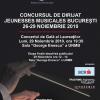 """Concursul de Dirijat """"Jeunesses Musicales București"""", prima ediţie"""