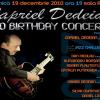 """Capriel Dedeian lansează """"Teme de jazz"""", la al său """"50 Birthday Concert"""""""