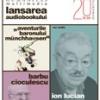 """Lansare de audiobook: Ion Lucian citeşte """"Aventurile baronului Munchhausen"""""""