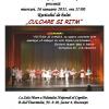 """Recital de balet """"Culoare şi ritm"""", susţinut de elevi ai Liceului de Coregrafie """"Floria Capsali"""""""