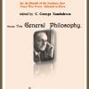 """""""General Philosophy"""" de Constantin Noica, publicat la Editura pentru Literatură Contemporană"""