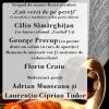 Lecturi şi lansări cu Călin Sămărghiţan şi George Precup, la Braşov