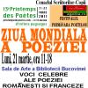 Ziua Mondială a Poeziei, sărbătorită la Suceava