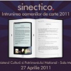 SINECTICO 2011 – Întrunirea oamenilor de carte, marchează Ziua Mondială a Cărţii şi Dreptului de Autor