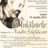 """""""Întâlnirile Radu Săplăcan"""", ediţia a V-a"""