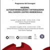 """""""Naţiune, autodeterminare, integrare în Europa Centrală şi de Sud-Est"""", colocviu româno-italian la Veneţia"""