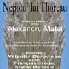 "Alexandru Matei, invitat la ""Nepotu' lui Thoreau"", la Cluj"