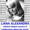 """Lansare-eveniment: """"Liana Alexandra. Mărturii despre muzica ei"""" de Şerban Nichifor"""