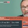 "G. M. Tamás dezbate pe tema ""Noul război civil european"", la SNSPA"