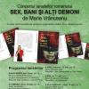 """Marie Vrânceanu lansează romanul """"Sex, bani şi alţi demoni"""", la Sibiu"""