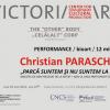 """Christian Paraschiv expune """"Parcă suntem şi nu suntem la fel. Amestec ADN prelevat de la artist + AND-ul unui participant voluntar"""", la Victoria Art Center"""