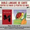 Călin-Andrei Mihăilescu şi Dumitru Radu Popa – dublă lansare de carte la Palatul Şuţu
