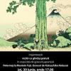 Gravuri de Katsushika Hokusai, expuse la Muzeul Naţional de Artă