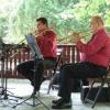Muzică de promenadă în Grădina Cişmigiu