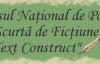 """Concursul Naţional de Poezie şi Proză Scurtă de Ficţiune """"Text Construct"""""""