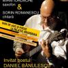 """""""Vară de jazz şi poezie la Mogoşoaia"""", cu poetul Daniel Bănulescu şi muzicienii Mihai Iordache şi Sorin Romanescu"""
