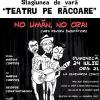 """""""No umăn, no crai … sau curs pentru începători"""", la Ceainăria Cinci"""