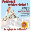 """Editura Herald lansează campania pro-lectură """"Pedalează printre rânduri!"""