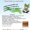 """Dezbatere:""""Rolul campaniilor de promovare a lecturii în câmpul cultural autohton"""""""