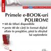 Romanul lui Alex. Leo Şerban în format digital şi proiectul e-BOOKs al Editurii Polirom, lansate la Books Coffee