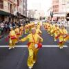 Paradă Falun Gong în Bucureşti