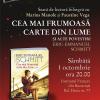 Seară de lectură bilingvă la Institutul Francez din Bucureşti