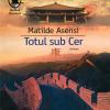 """Seară de lectură 121.ro: dezbatere despre romanul """"Totul sub cer"""" de Matilde Asensi, Editura Humanitas Fiction"""