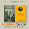 """Opera lui Traian"" de  Ramon de Basterra"