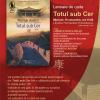 """Lansare """"Totul sub Cer"""" de Matilde Asensi"""