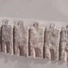 """Sculptura """"Zeiţa Lea"""" de Beata Rostas, prezentată în Grădina Triade"""