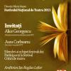 Festivalul Naţional de Teatru 2011, discutat la Cafeneaua critică