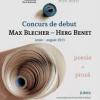 Câştigătorii Concursului de debut Max Blecher / Herg Benet 2011, prezentaţi la Gaudeamus