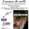 """Valentin Leahu lansează """"Apusul vinului în călimară"""""""