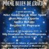 POEME BLUES DE CRĂCIUN, o serată specială cu Mike Godoroja & Blue Spirit, Dan Mircea Cipariu, Andra Rotaru şi Bogdan O. Popescu