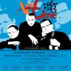 Violonistul Alexandru Tomescu, violoncelistul Răzvan Suma şi pianistul Toma Popovici, la Sala Radio