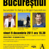 """""""Povestind Bucureştiul"""", cu Silvia Colfescu, Radu Oltean şi Cristian Radu, la Universitatea de Arhitectură """"Ion Mincu"""""""